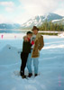 bt & julie shipley at snow lake, washington in 12-31-95
