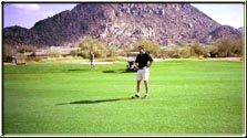 brian taylor - golfing with family at troon golf course in arizona