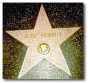 audie murphy - hollywood walk of fame