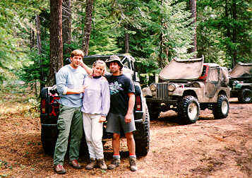 Nachee Trail, BT, Julie and Jerry Shipley
