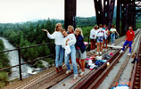1990 bungee jumping into nisqually river