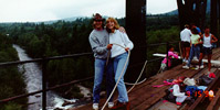 1990 bungee jumping at nisqually with christine greenlaw