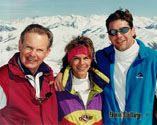 March, 1998, SunValley, Dad Meg BT